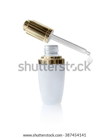 Oil Bottle Serum - stock photo
