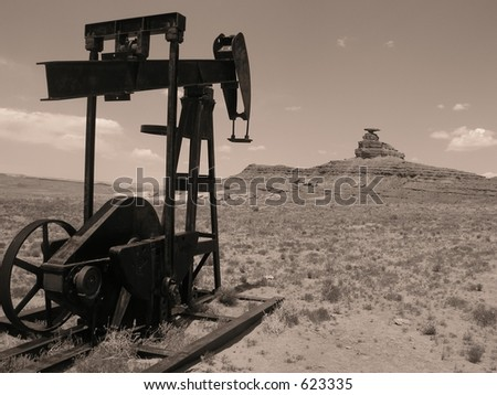 Oil Drilling Mexican Hat