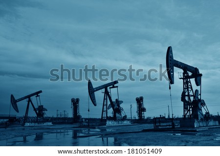 Oil field drilling rig, jidong oilfield in China