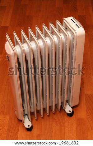 Oil heater - stock photo