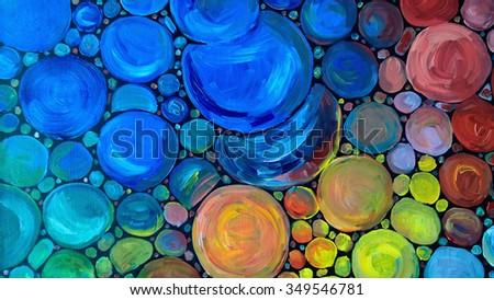 Oil paint texture