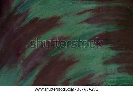 oil painting, abstract background purple green