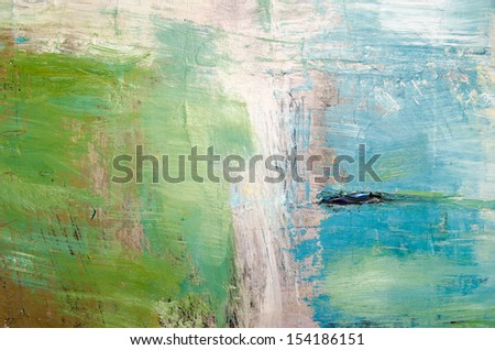 Oil painting abstract texture background - stock photo