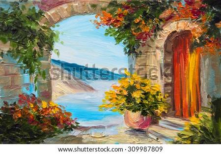 summer painting