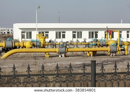Oil pipeline 
