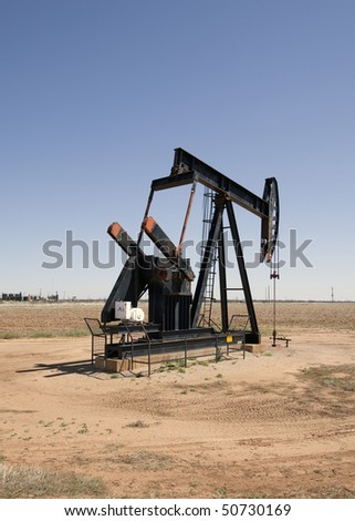 Oil pump in the Texas panhandle