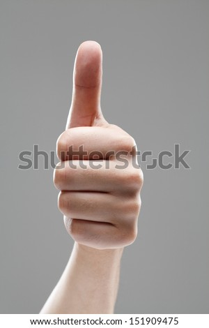 OK sign  - stock photo