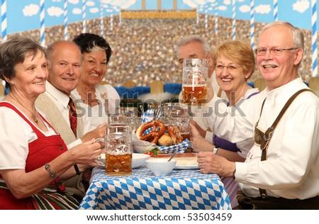 Oktoberfest - stock photo