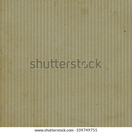 Old abrasive banded paper background - stock photo