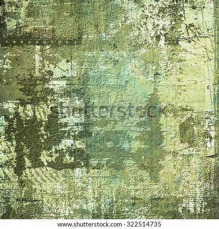 Old abstract green texture