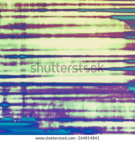 Old abstract grunge background, aged retro texture. With different color patterns: gray; green; purple (violet); blue - stock photo