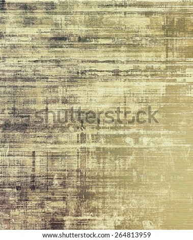 Old abstract grunge background for creative designed textures. With different color patterns: yellow (beige); brown; gray - stock photo