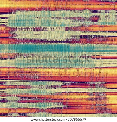 Old abstract grunge background for creative designed textures. With different color patterns: yellow (beige); red (orange); purple (violet); blue - stock photo