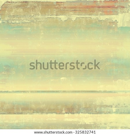 Old abstract grunge background for creative designed textures. With different color patterns: yellow (beige); brown; gray; cyan - stock photo