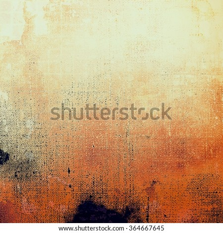 Old abstract grunge background for creative designed textures. With different color patterns: yellow (beige); brown; black; white; red (orange)