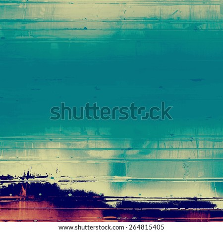 Old abstract grunge background for creative designed textures. With different color patterns: brown; purple (violet); blue - stock photo