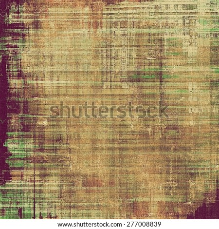 Old abstract grunge background for creative designed textures. With different color patterns: brown; gray; purple (violet); green - stock photo