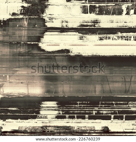 Old abstract texture with grunge stains. With different color patterns: gray, black, white - stock photo