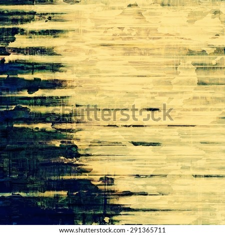 Old abstract texture with grunge stains. With different color patterns: yellow (beige); brown; blue; green - stock photo