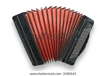 Old accordion
