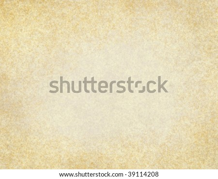 old aged parchment or paper background - stock photo