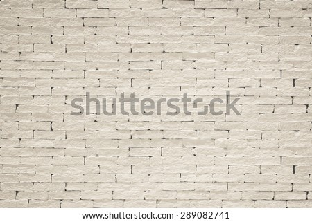 Old aged rough brick wall texture background painted in light sepia color tone in grunge style : Blank masonry wall textured backdrop in light sepia brown colour   - stock photo