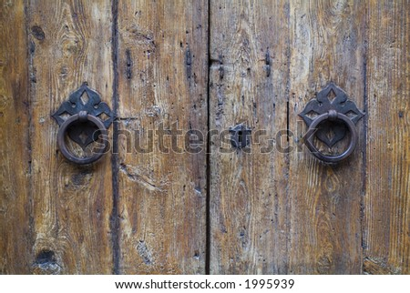 Old ancient door detail 04. See more in my portfolio