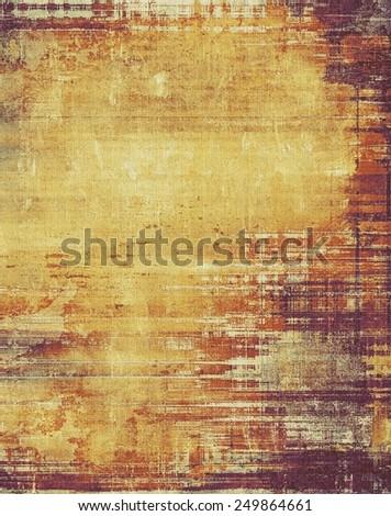 Old ancient texture, may be used as abstract grunge background. With different color patterns: yellow (beige); brown; gray; purple (violet) - stock photo
