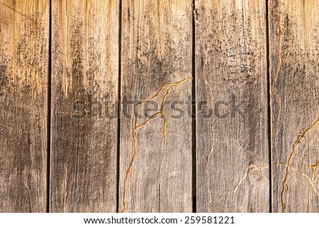 Old and grunge wooden background - stock photo