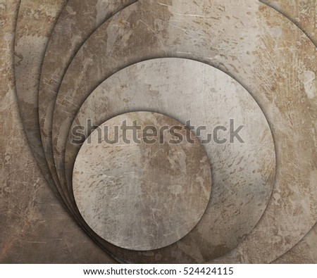 old and rusty metal plates background