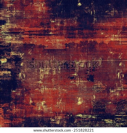 Old and weathered grunge texture. With different color patterns: brown; red (orange); blue; purple (violet) - stock photo