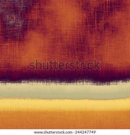 Old and weathered grunge texture. With different color patterns: gray; purple (violet); yellow (beige); brown - stock photo