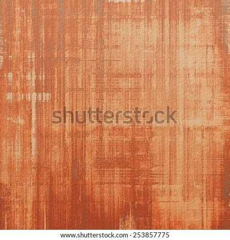 Old and weathered grunge texture. With different color patterns: yellow (beige); brown; gray; red (orange) - stock photo