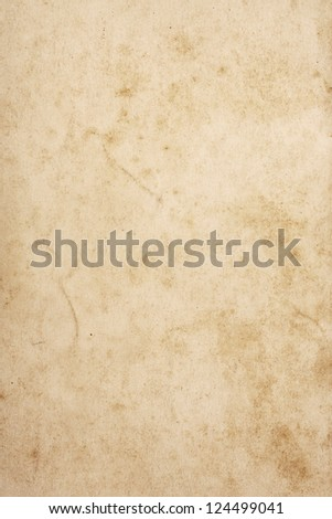 Old and weathered note paper - stock photo
