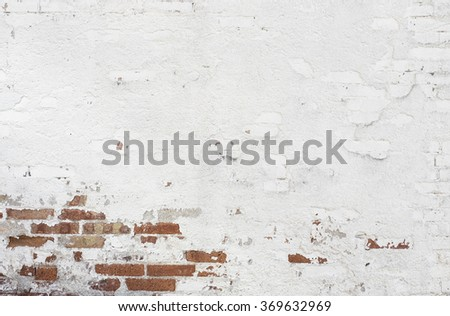 Old and worn out wall background - stock photo