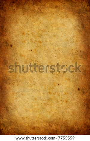 old and worn paper texture - stock photo