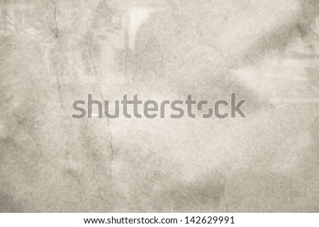 old and worn paper texture background  - stock photo
