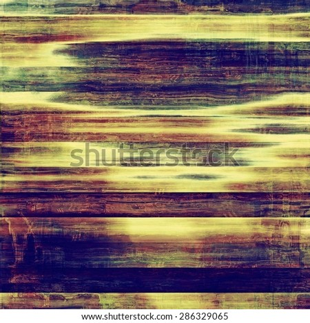 Old antique texture or background. With different color patterns: yellow (beige); blue; green; purple (violet) - stock photo