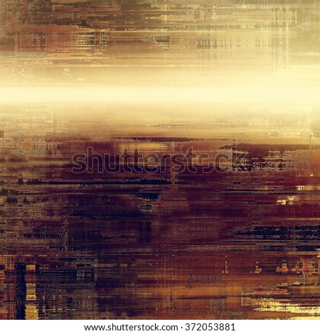 Old antique texture or background. With different color patterns: yellow (beige); brown; purple (violet); gray - stock photo