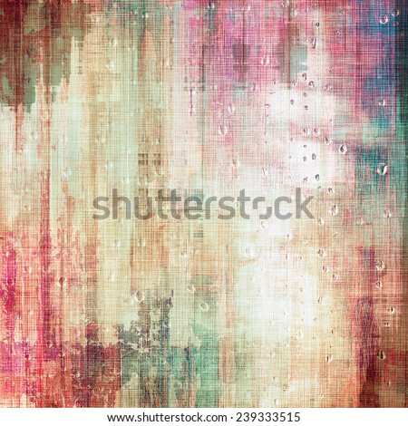 Old antique texture or background. With different color patterns: yellow; purple (violet); brown; blue; pink - stock photo