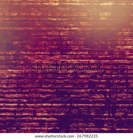 Old antique texture - perfect background with space for your text or image. With different color patterns: brown; purple (violet); pink - stock photo