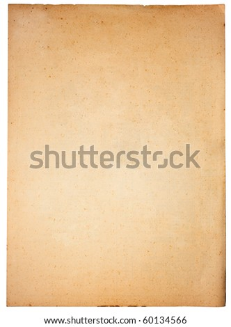 old antique vintage paper background - stock photo