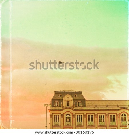 Old architecture - stock photo