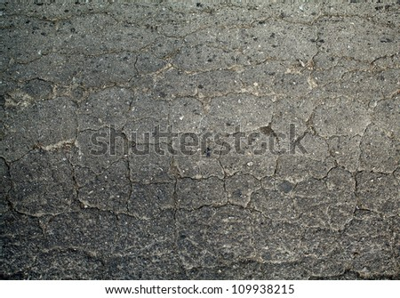 Old asphalt texture - stock photo