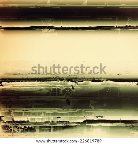 Old background with delicate abstract texture. With different color patterns: brown, gray, yellow, black