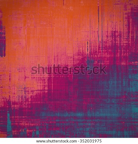 Old background with delicate abstract texture. With different color patterns: red (orange); purple (violet); pink; blue - stock photo