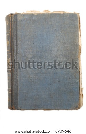 Old bad shaped book