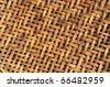 old bamboo weave  texture background - stock photo