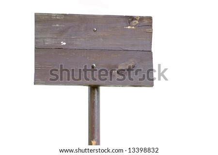 old banner - stock photo