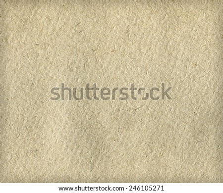Old beige paper canvas texture or background. Closeup - stock photo